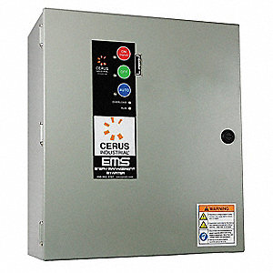 24VAC Key Pad NEMA Circuit Breaker Combination Starter, Enclosure NEMA Rating 4X, 40 Amps AC