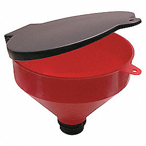 DRUM FUNNEL 4 QT W/ COVER