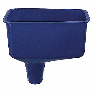 FUNNEL POLYPROPYLENE 26 OZ BLUE