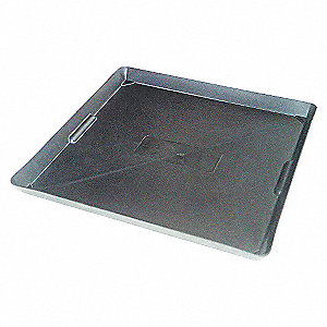 DRIP TRAY PLASTIC 22LX22WX1.5H IN