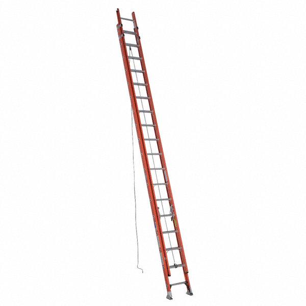 WERNER 36 ft. Fiberglass Extension Ladder, 300 lb. Load