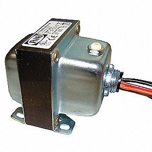 functional devices inc / rib control transformer, input voltage: 208vac,  240vac, 277vac, 480vac, output voltage: 120vac - 41d381|tr40va013 - grainger
