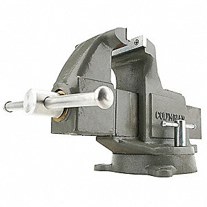 "3-1/2"" Ductile Iron Machinist's Vise, 3-1/4"" Throat Depth"