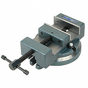 Milling Machine Vise,Low Profile,4-1/2in