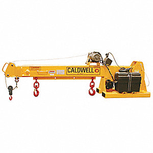 Telescoping Precision Lifting Forklift Boom, 6000 lb.