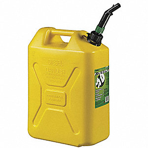 Military Diesel Can, 5 Gal.