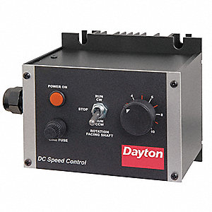 Dayton dc speed control nema 1 0 to 90 180vdc voltage for 90 volt dc motor controller