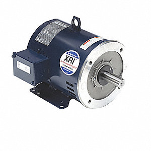 Motor,5 HP,3500 RPM,230/460V,182TC