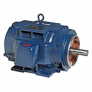 25 HP General Purpose Motor,3-Phase,1775 Nameplate RPM,Voltage 230/460,Frame 286TSC