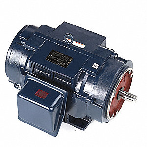 30 HP General Purpose Motor,3-Phase,3555 Nameplate RPM,Voltage 230/460,Frame 286TSC