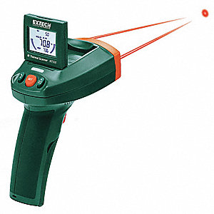 Infrared Thermometer, -22° to 500°F