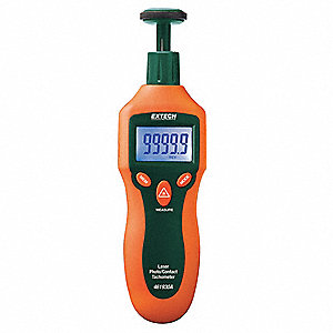Laser Tachometer,2 to 20,000 rpm