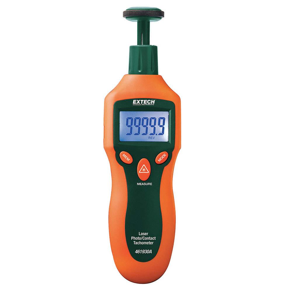 Tacómetro,RPM 2 a 20,000 Contacto