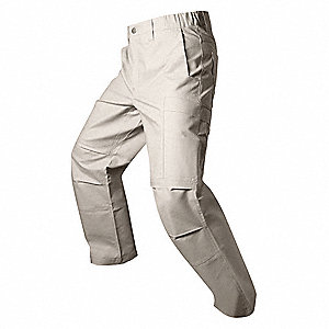 Mens Tactical Pants,Khaki,33 x 30 in.