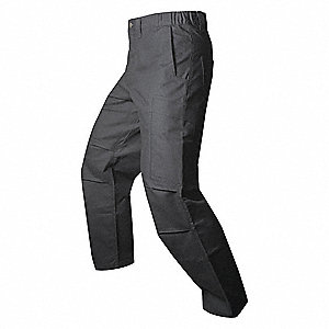 Mens Tactical Pants,Black,34 x 36 in.