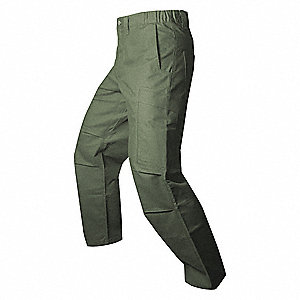 Mens Tactical Pants,OD Green,40 x 34 in.