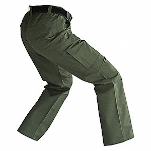 Womens Tactical Pants,OD Green,8 to 34in