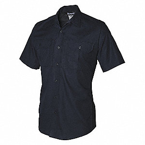 Tactical Shirt Short Sleeve,Navy,S