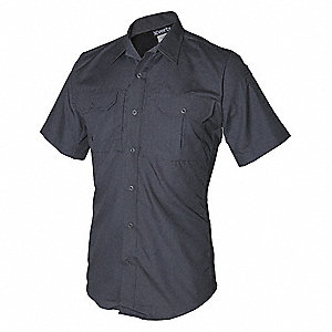 Tactical Shirt Short Sleeve,Smoke Gray,L