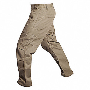 "Men's Cargo Pants. Size: 36"", Fits Waist Size: 36"", Inseam: 32"", Desert Tan"