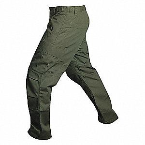"Men's Cargo Pants. Size: 33"", Fits Waist Size: 33"", Inseam: 32"", OD Green"