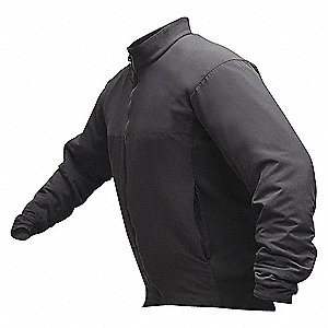 "Jacket, L Fits Chest Size 46"" to 48"", Black Color"