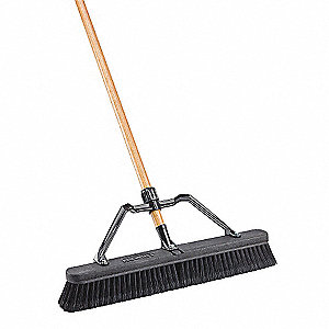 IND SMOOTH SURFACE PUSH BROOM SET