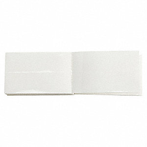"Right-to-Know Label Overlaminate, Width 2-1/2"", Height 1-1/2"", 50 PK"