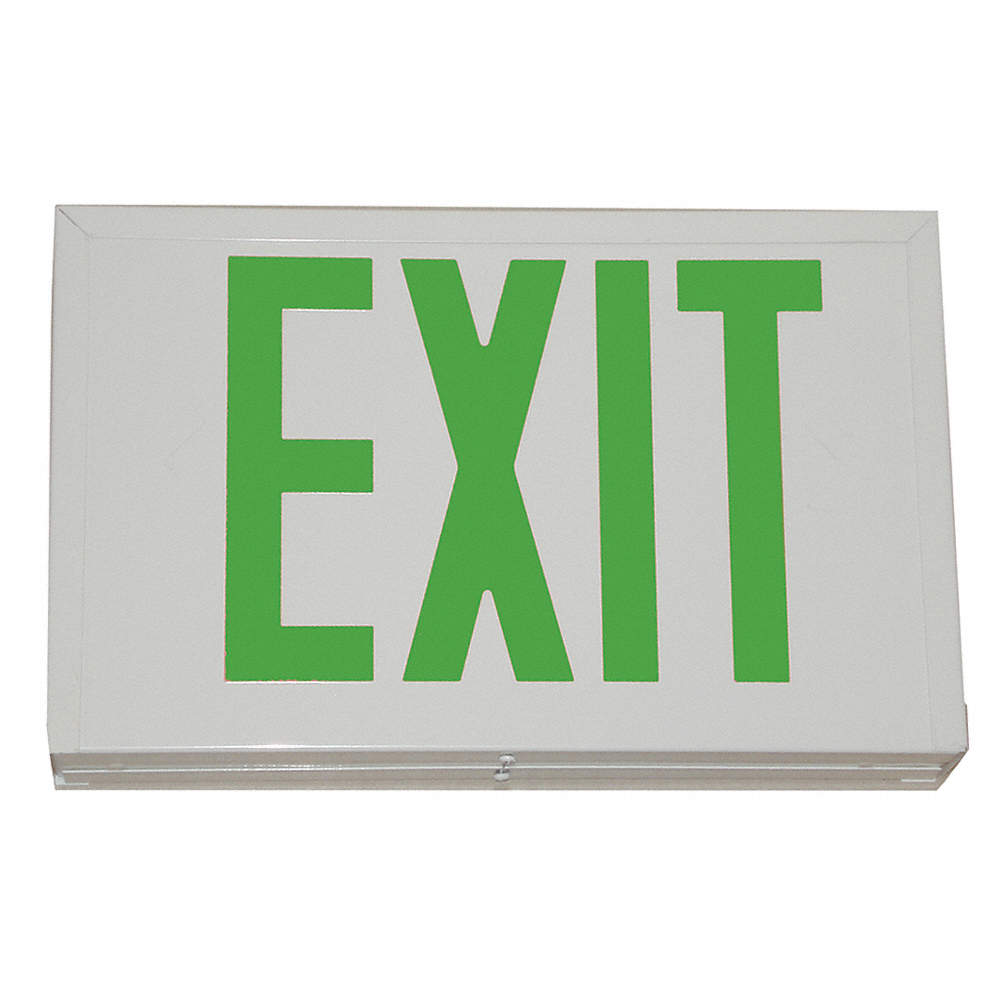 Image result for green exit sign
