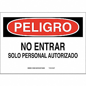 Security Sign,7 x 10In,Blk/Red and Wht