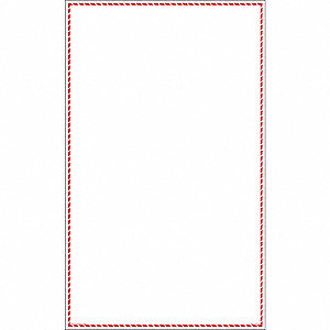 Label,White/Red,Laser Paper,PK100
