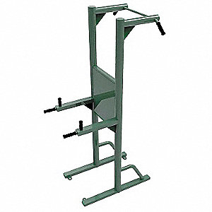 "44"" x 40"" x 92"" Pull Up and Dip Station with 330 lb. Maximum User Weight&#x3b; Number of Stations: 4"