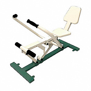 "52"" x 36"" x 28"" Rowing Machine with 330 lb. Maximum User Weight; Number of Stations: 1"