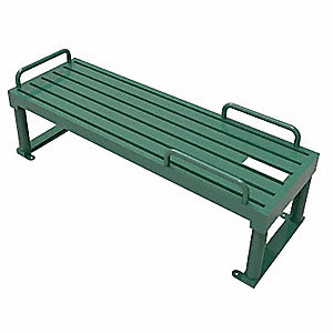 "79"" x 30"" x 25"" Sit Up Bench with 330 lb. Maximum User Weight&#x3b; Number of Stations: 1"