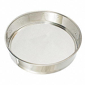 Sieve,Stainless Steel,14 In
