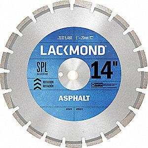 DIAMOND BLADE 14IN ASPHALT 3D