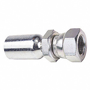 ADAPTER HYD METRI STL MALE STUD LT