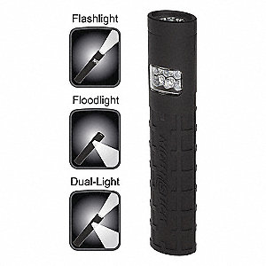 FLASHLIGHT LED AAA POLYMER IPX4 BK