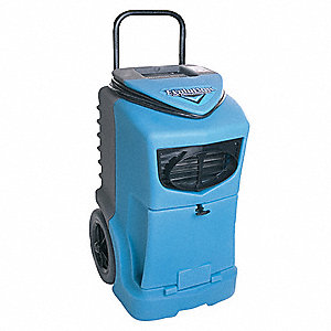 "Low-Grain Portable Dehumidifier, 115V, 5 Amps, Depth 20-3/4"", Width 20-3/4"", Height 33-1/2"""