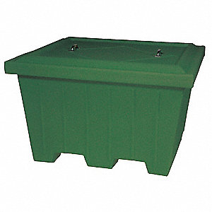 Container,500 lb.,Green,29.81 cu. ft.