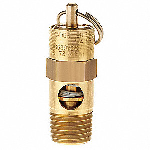 Brass Pressure Relief Valve with Soft Seat Valve Type