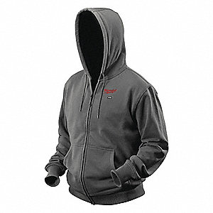 HOODIE HEATED M12 GRAY MED KIT