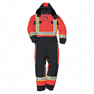 HV CSA QUILTED WINTER COVERALL RD M