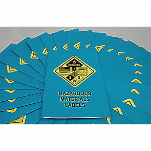 Handbook,Hazardous Materials Labels,PK15