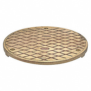 Zurn floor clean out cover bronze 41j464 pb1400 cvr 2 for Floor clean out