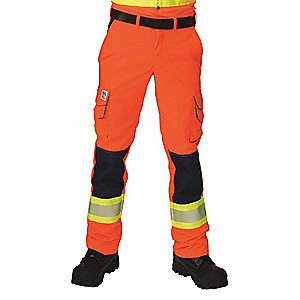 RIPSTOP HV CARGO PANTS ORANGE