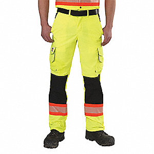 RIPSTOP HV CARGO PANTS YELLOW
