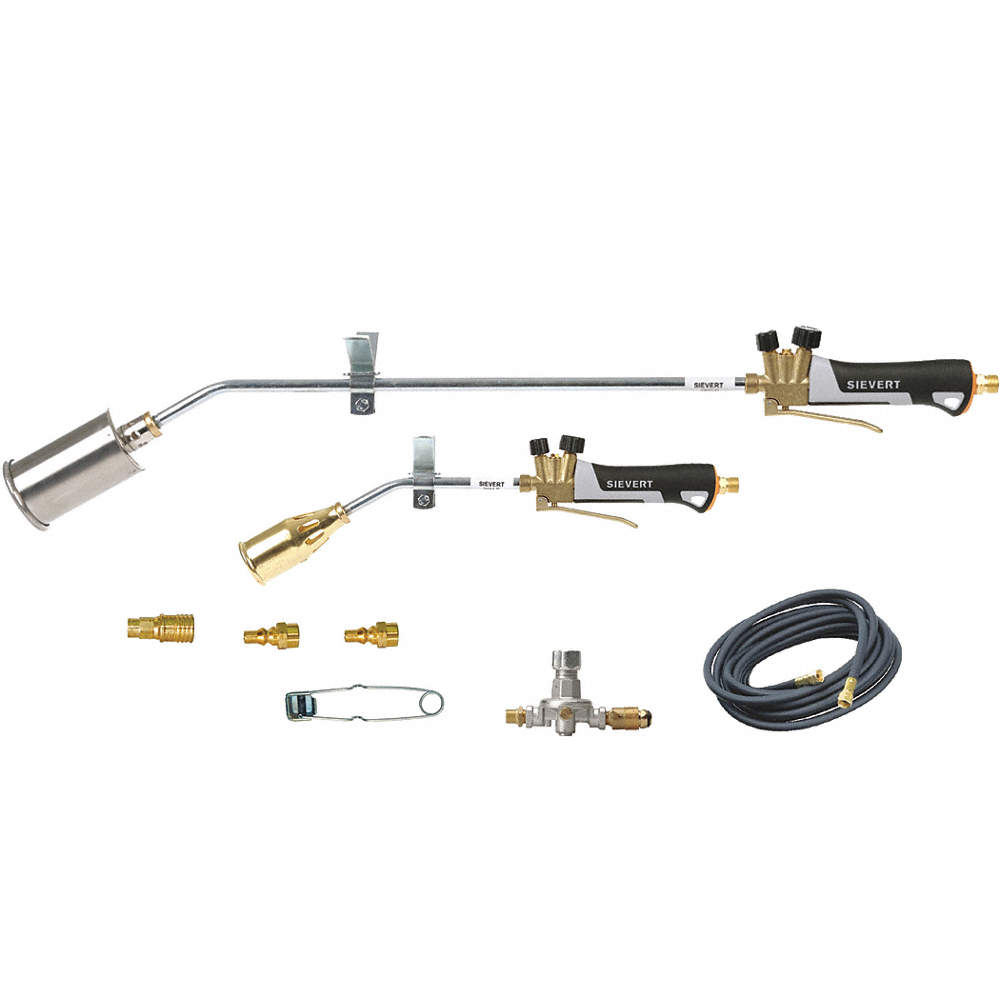 SIEVERT KIT 32IN 18IN TORCHES PLUS MORE - Brazing and