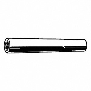 Steel Internal Threaded Taper Pin, 60mm L, 16mm Small End Dia.