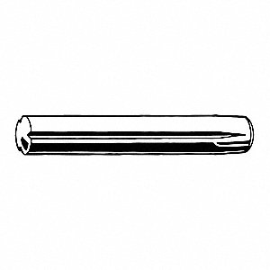Pin,Steel,2.5mm dia.,10mm L,PK50